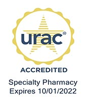 Logo for URAC Accreditation